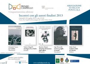 Invito Premio Campiello Punta Ala 18 luglio 2013