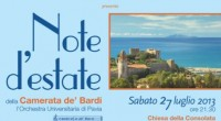 L'Orchestra dell'Università di Pavia, Camerata de'Bardi, suonerà a Punta Ala Sabato 27 Luglio 2013 alle ore 21.30 presso la Chiesa della Consolata, mentre Domenica 28 Luglio 2013 alle ore 21.30 […]